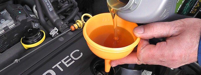 Замена масла двигателя в Киеве